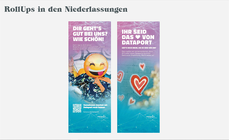Roll-ups-Dataport-Recruitingkampagne