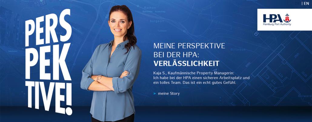 HPA Karriereseite