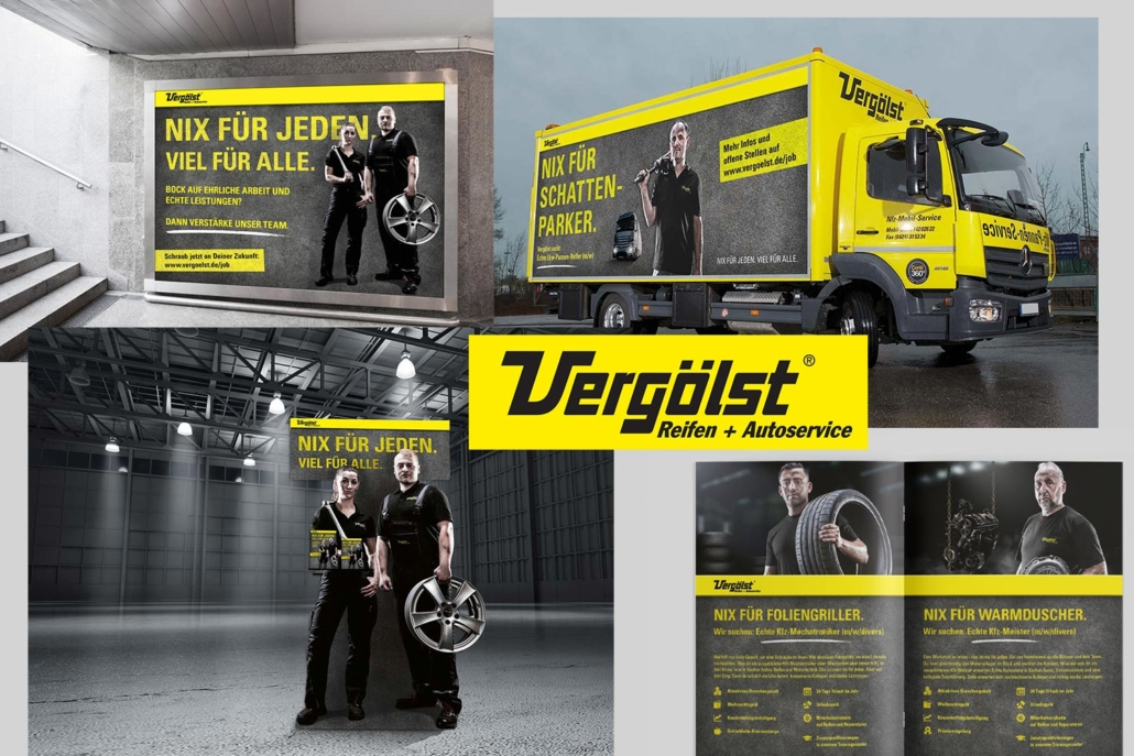 Vergölst Recruitng Kampagne