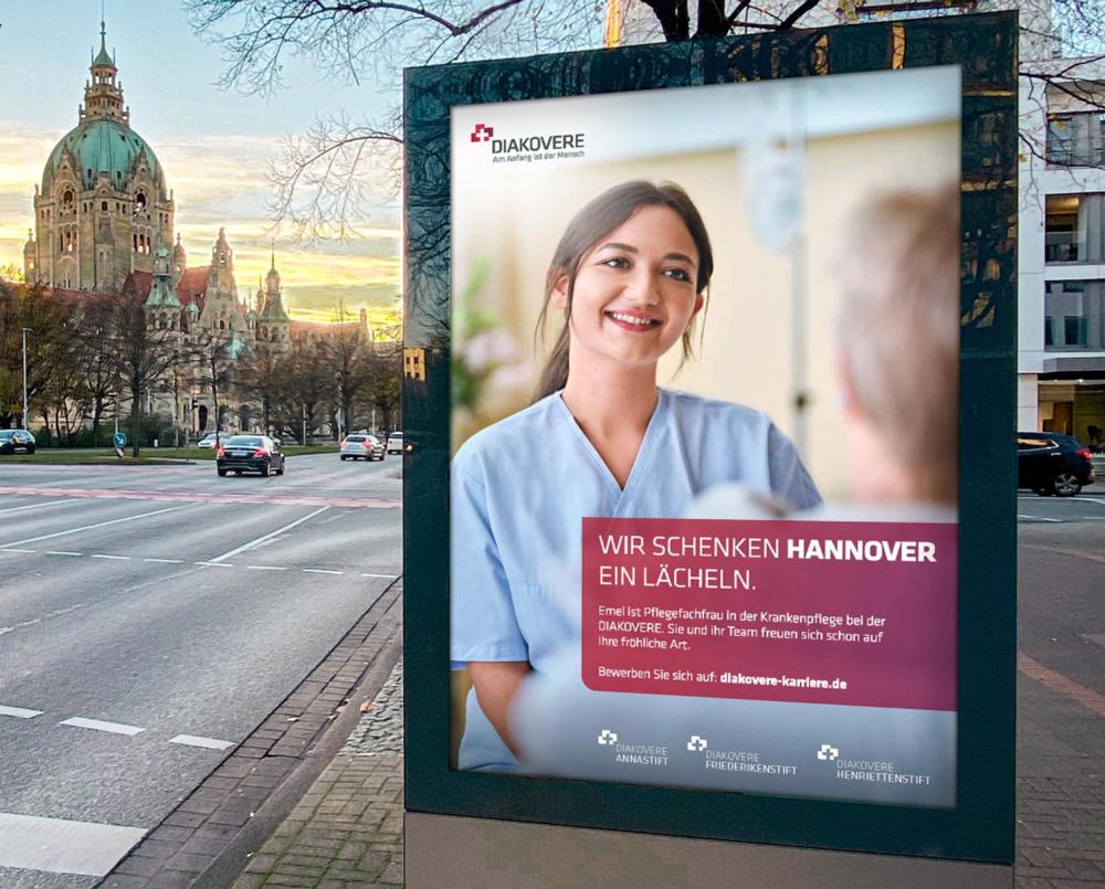Diakovere Recruiting und Employer Branding Kampagne