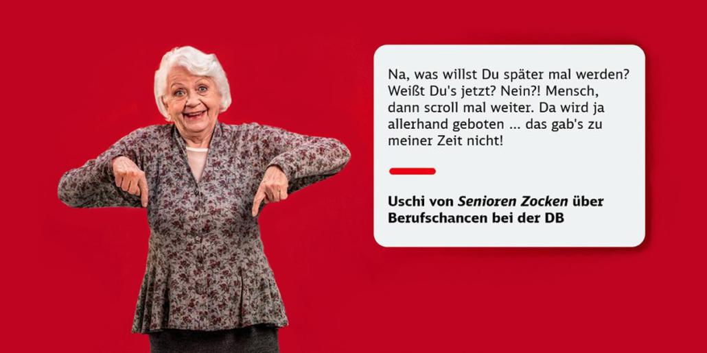 Deutsche Bahn Recruiting-Kampagne