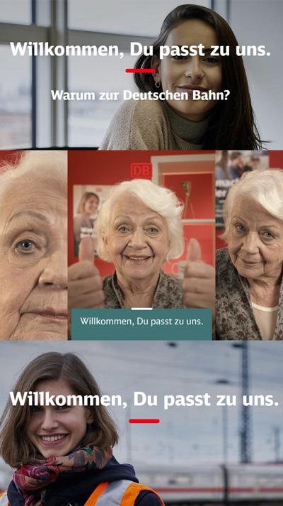 Deutsche Bahn - Recruiting Kampagne