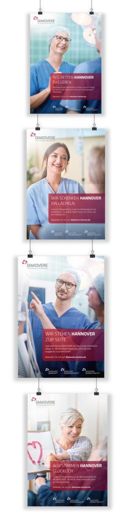 Diakovere Employer-Branding-Kampagne