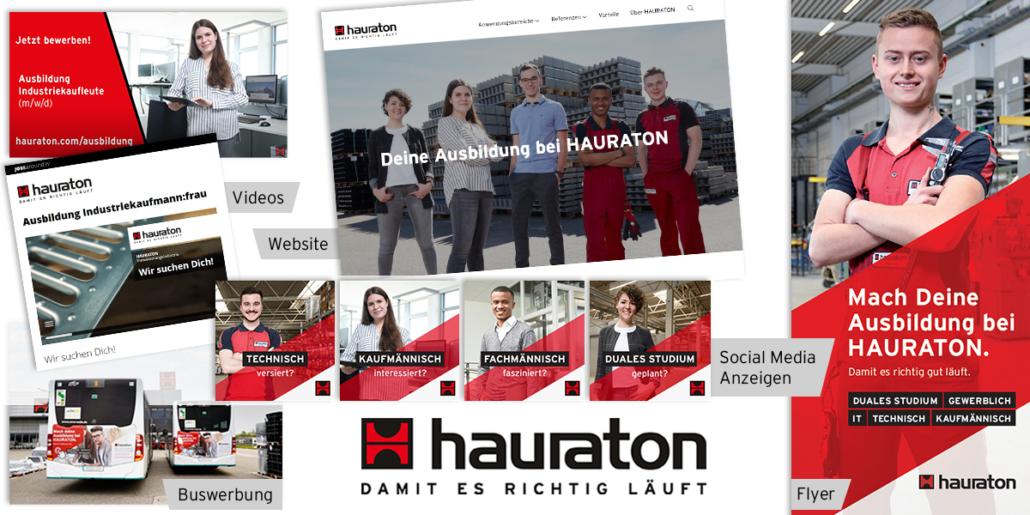 rexx Recruiting Award - Recruiting Kampagne von hauraton